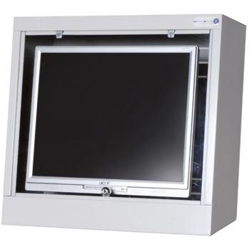 Schutzgehäuse für Flachbildschirme bis 19' H x