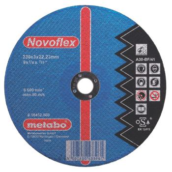Novoflex 180x3,0x22,23 Stahl, Trennscheibe, gekröp