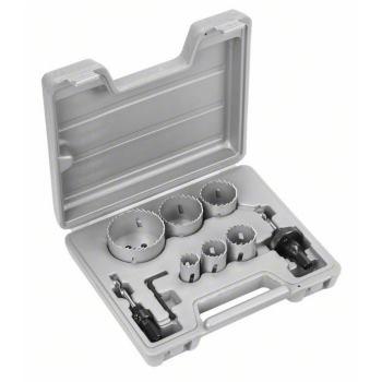 Lochsägen-Set HSS-Bimetall, 9-teilig, 22 - 64 mm