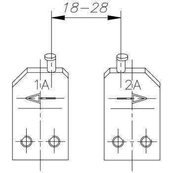 Ersatzspitze 4 A