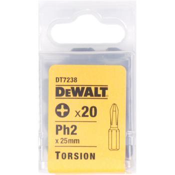 Torsion Schrauberbits für Phillips-Kreu DT7238 rauben (Ph2) - 25mm Länge