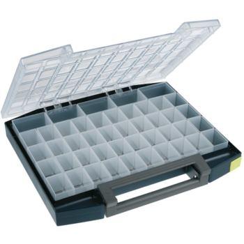 Sortimentskoffer LxBxH 421x361x55 mm mit 45 Fache