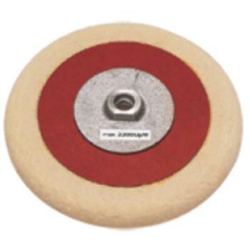 Filzpolierscheibe 175 mm M 14