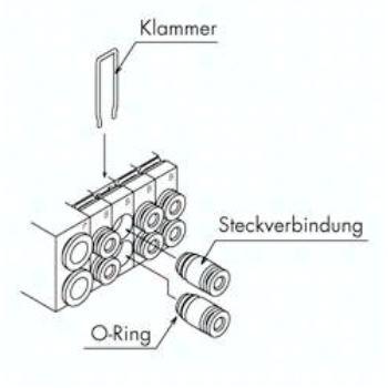 VVQ1000-50A-C4 SMC Austausch Fitting