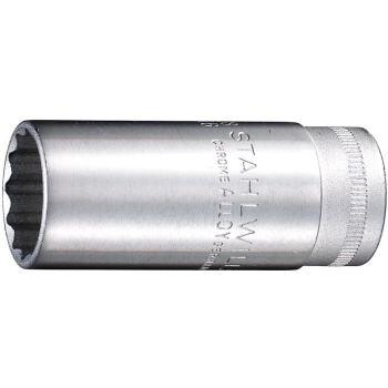 """3/8"""" Zoll Steckschlüsseleinsatz 13mm DIN 3124 lang"""
