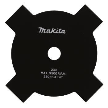 4-Zahn Schlagmesser für Motor-Sensen EM4340L/4341