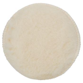 Lammwollhaube für Exzenterschleifer, Klett, 130 mm