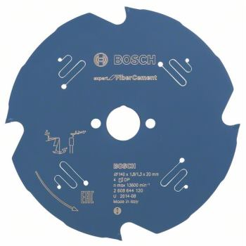 Kreissägeblatt Expert for Fiber Cement, 140 x 20 x1,8 mm, 4