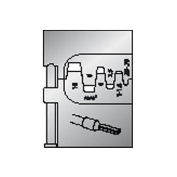 Modul-Einsatz für Aderendhülsen 0,25-10mm