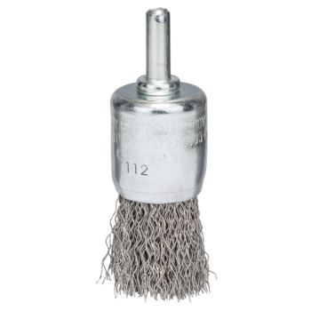Pinselbürste, Edelstahl, gewellter Draht, 0,3 mm,