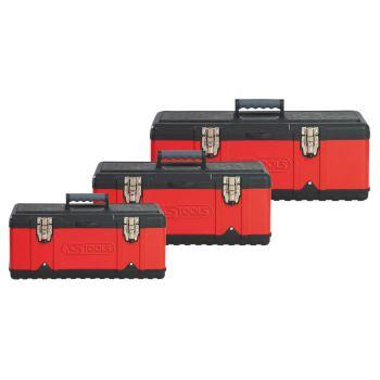 Kunststoff-Stahlblech-Werkzeugkisten-Satz 850.0360