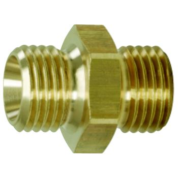 Messing-Reduziernippel, 13x17mm 515.3380
