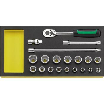 """96830357 - 3/8"""" Werkzeuge in TCS Einlage"""