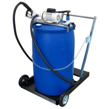 AdBlue® Membranpumpe SB 34 fahrbar für 200 l Fässe