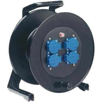 Kabeltrommel-Hartgummi 50 m Gummikabel 3x1,5 qmm H