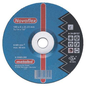Novoflex 180x6,0x22,23 Stahl, Schruppscheibe, gekr