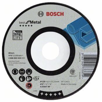 Schruppscheibe gekröpft Best for Metal A 2430 T BF