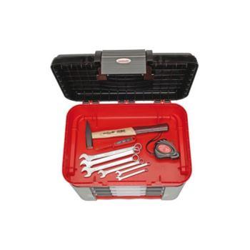 Werkzeugbox + Universalsatz SCHRAUBER, 57-tlg