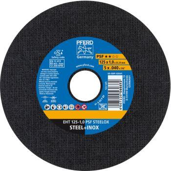 Trennscheibe EHT 125-1,0 A 60 P PSF-INOX/22,23
