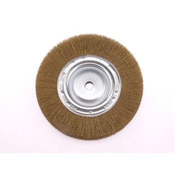 Rundbürsten Drm 350 mm breit 35-40 mm Rohr 100 mm Messingdraht MES gew. 0,30 mm