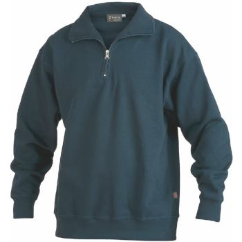 Sweatshirt Zip marine Gr. 6XL