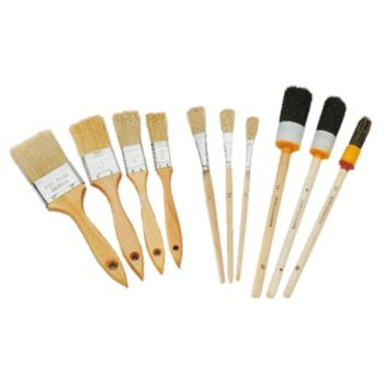 Pinsel-Satz, 10-teilig: Flachpinsel, Ringpinsel, E