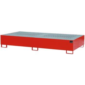 Stahl-Auffangwanne für 2x IBC LxBxH 2650x1300x435