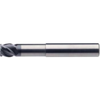 VHM-Torusfräser, kurze Schneide Durchmesser 3x4x14 x60 mm r0,5 Z=4 RT52