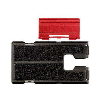 Schutzplatte Kunststoff mit Filz für Stichsäge inc