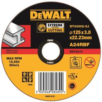 EXTREME Metall-Trennscheibe - flach DT43302
