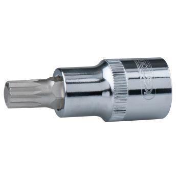 "1/2"" CHROMEplus® Bit-Stecknuss Vielzahn, M10 918.1"