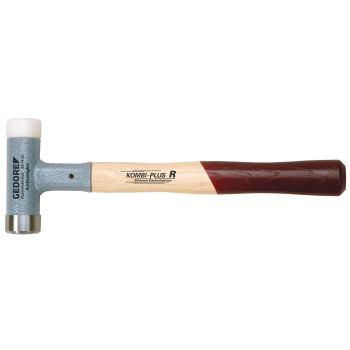 Rückschlagfreier Schon- und Schlosserhammer KOMBI- PLUS R 30 mm