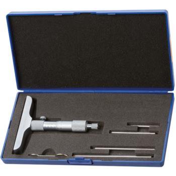 Tiefenmessschraube Messbereich 0 - 100 mm mit 4 M