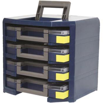 Mobilbox, leer LxBxH 347x305x324 mm Farbe blau/gr
