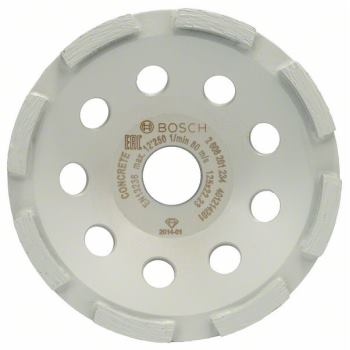 Diamanttopfscheibe Standard for Concrete, 125 x 22,23 x 5 mm