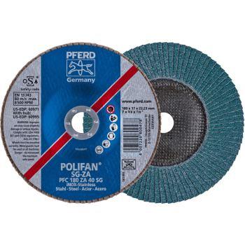 POLIFAN®-Fächerscheibe PFC 180 ZA 40 SG/22,23