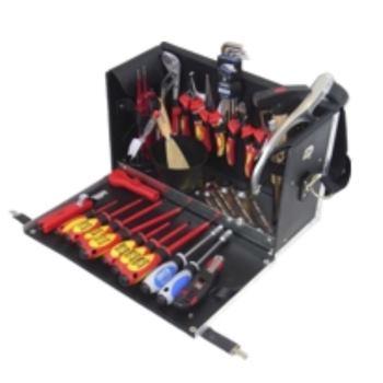 Ledertasche 11-L3, komplett, mit Elektro-Werkzeugp aket 11, 33-teilig