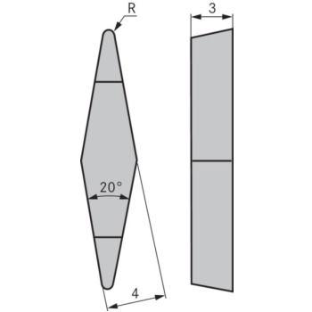Kopierdrehplatte XBGR 100304 SPN OHC7620
