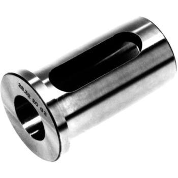 Reduzierhülse mit Nut D 25x8 mm