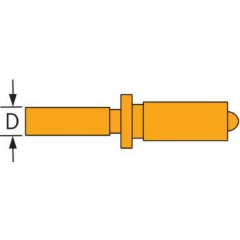 SUBITO fester Messbolzen Stahl für 35 - 60 mm, 44