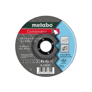 Combinator 125 x 1,9 x 22,23 mm, Inox, Trenn- u. S