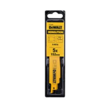 BI-Metall Spezial Säbelsägeblätter (Bau DT2356 tt) / Gesamtlänge: 152mm / Zahnteilung: 1.8mm