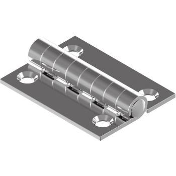 Scharnier, gestanzt 40 X 40 X 1,5 mm, A2