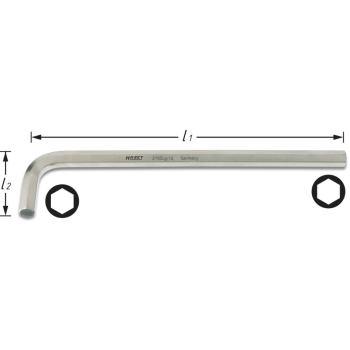 Winkelschraubendreher 2100LG-06 · s: 6 mm· Innen-Sechskant Profil