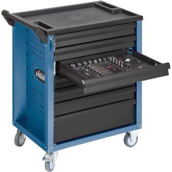 Werkzeugwagen-Vigor700-blau