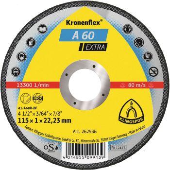 Trennscheibe, EXTRA, A 60, gerade, Abm.: 115x1x22,23 mm
