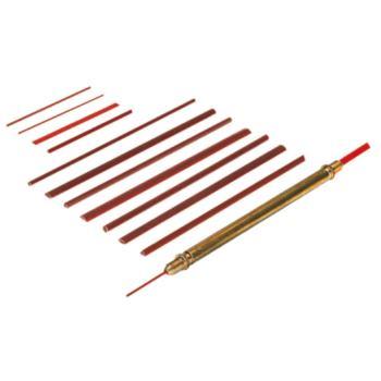 DEGUSSIT Kleinstfeilen Flach 50 x 3 x 0,3mm