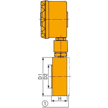 Kraftmessdose Simplex II Zubehör: Ausgleichsscheib