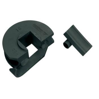 Stahl-Biegeform mit Gleitschiene 16 mm