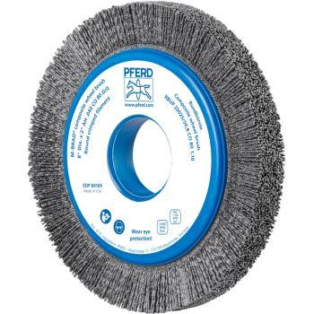 Rundbürste mit Plastikkörper, ungezopft RBUP 20025/50,8 CO 80 1,10